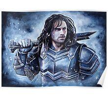Dwarven warrior Poster