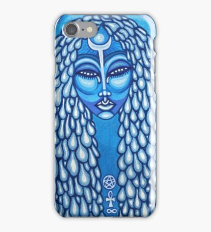 Blue Lady iPhone Case/Skin
