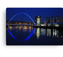 Blues on the Tyne Canvas Print