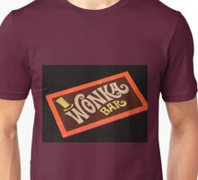 Charlie and the chocolate factory wonka bar Unisex T-Shirt