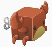 Glitch Cubimals npc cubimal crab Baby Tee