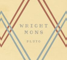 """""""Wright Mons"""" (Print) - AfterShock Sticker"""