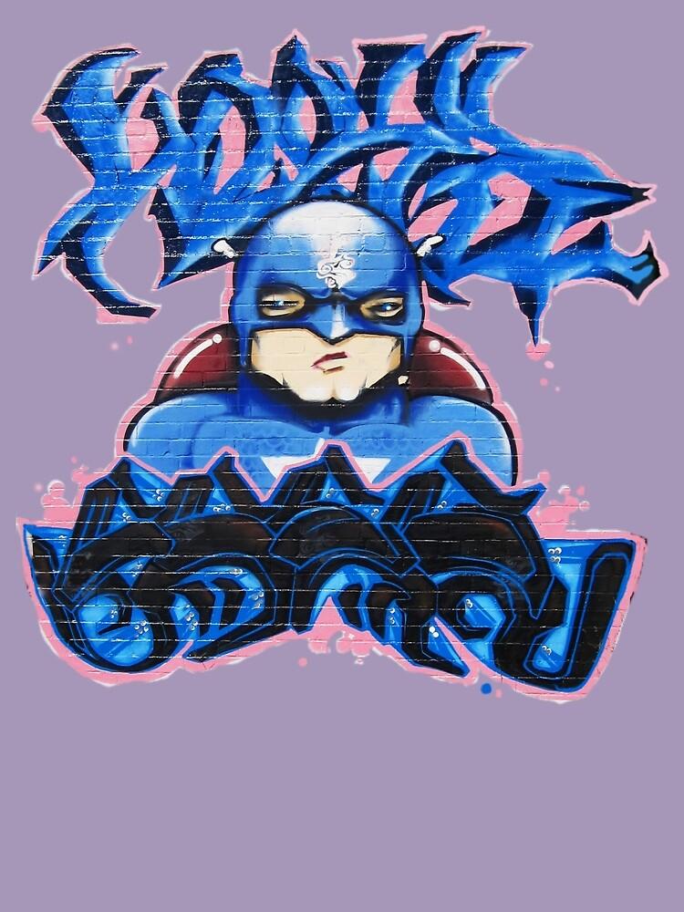 Graffiti- SUPER HERO by DAdeSimone