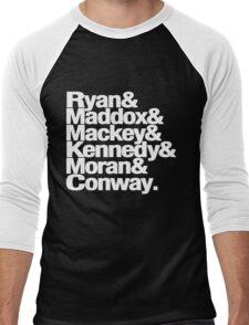 Tana French Dublin Murder Squad Ampersand List Men's Baseball ¾ T-Shirt