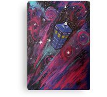 Dr Who - Tardis Canvas Print