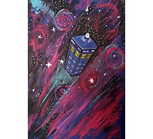 Dr Who - Tardis Photographic Print