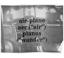 Airplane definition Poster