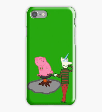 Live Bacon by Chef Unicorn iPhone Case/Skin