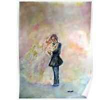 Wedding Dance Artist Designed Gifts Poster