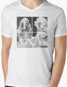 I-G-G-Y (B&W) Mens V-Neck T-Shirt