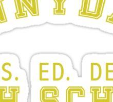 Sunnydale High Sticker