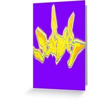 Graffiti Tee 3 Greeting Card