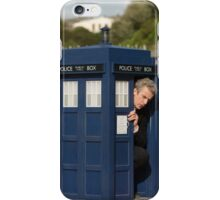The tardis is shrinking iPhone Case/Skin