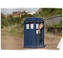 The tardis is shrinking Poster