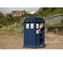 The tardis is shrinking Photographic Print