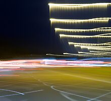 Freeway blur by Michelle Abel