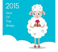 2015 Year Of The Sheep Photographic Print