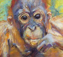 Amin 1 - Project Orangutan, the Exhibition by Terri Maddock