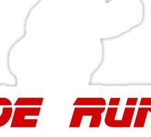 Blade Runner Sticker