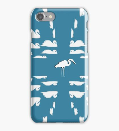 Pelican Among The Swans iPhone Case/Skin