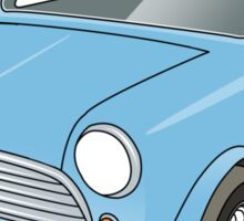 Classic Mini #9 Sticker