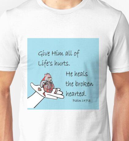 Healer of Broken Hearts Unisex T-Shirt