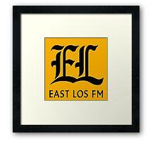 East Los FM Framed Print