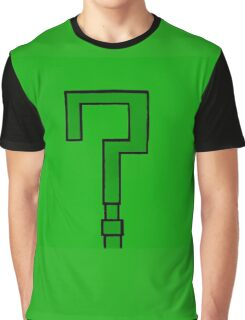 Riddler's Question Graphic T-Shirt