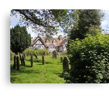 Old English Helmsley Canvas Print