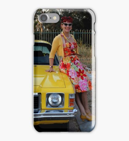 All tizzied up and sitting on the bonnet iPhone Case/Skin