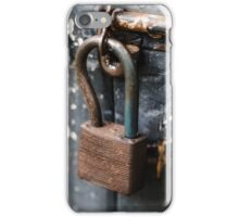 An old lock iPhone Case/Skin