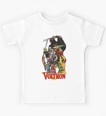 The Legend of Voltron Kids Tee