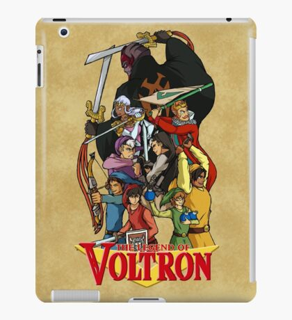 The Legend of Voltron iPad Case/Skin