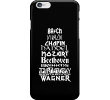 Composers iPhone Case/Skin