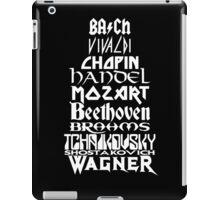 Composers iPad Case/Skin