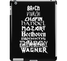 Composers iPad Case/Skin