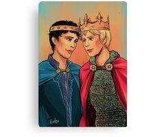 Kingly Husbands Canvas Print