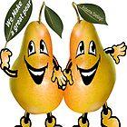 pear Sticker by aldona