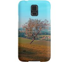 Tree on indian summer afternoon | landscape photography Samsung Galaxy Case/Skin