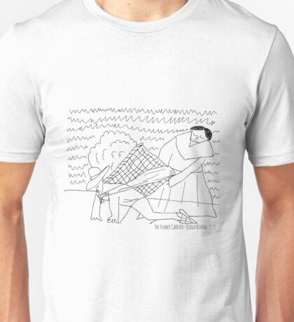 Flower Carrier - Diego Rivera Unisex T-Shirt