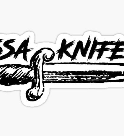 ISSA KNIFE - 21 SAVAGE Sticker