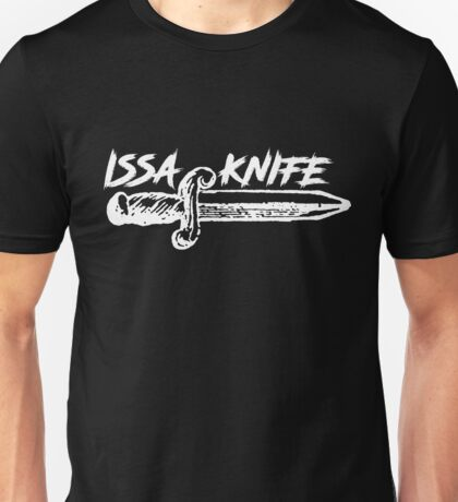 ISSA KNIFE - 21 SAVAGE (white) Unisex T-Shirt