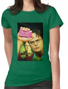 Dwight Club Womens Fitted T-Shirt