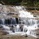 Waterfall in Blue Mountains, NSW by BigAndRed