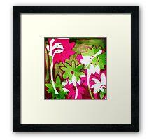 Watermelon Pink Framed Print