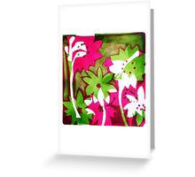 Watermelon Pink Greeting Card
