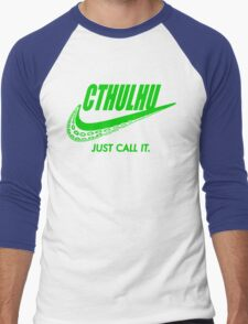 Just call it. Men's Baseball ¾ T-Shirt