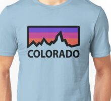 colorado abstract mountains Unisex T-Shirt