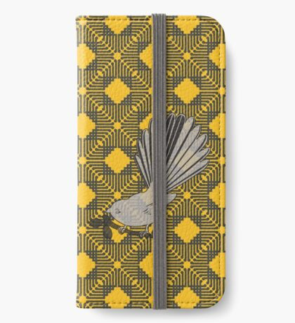Fantail kowhai iPhone Wallet/Case/Skin