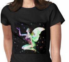 Fairy in stars 6 Womens Fitted T-Shirt